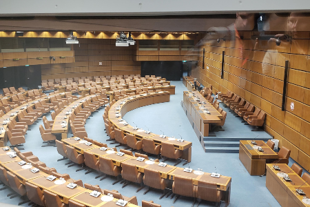 NATO Parliament room