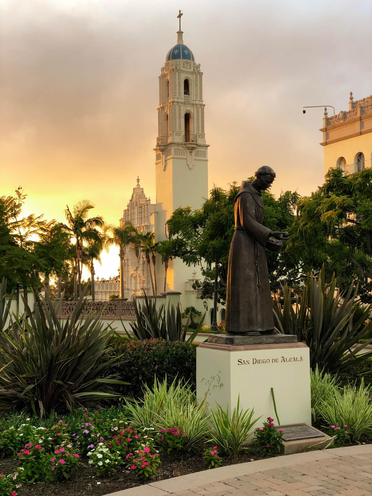 San Diego de Alcala at dusk