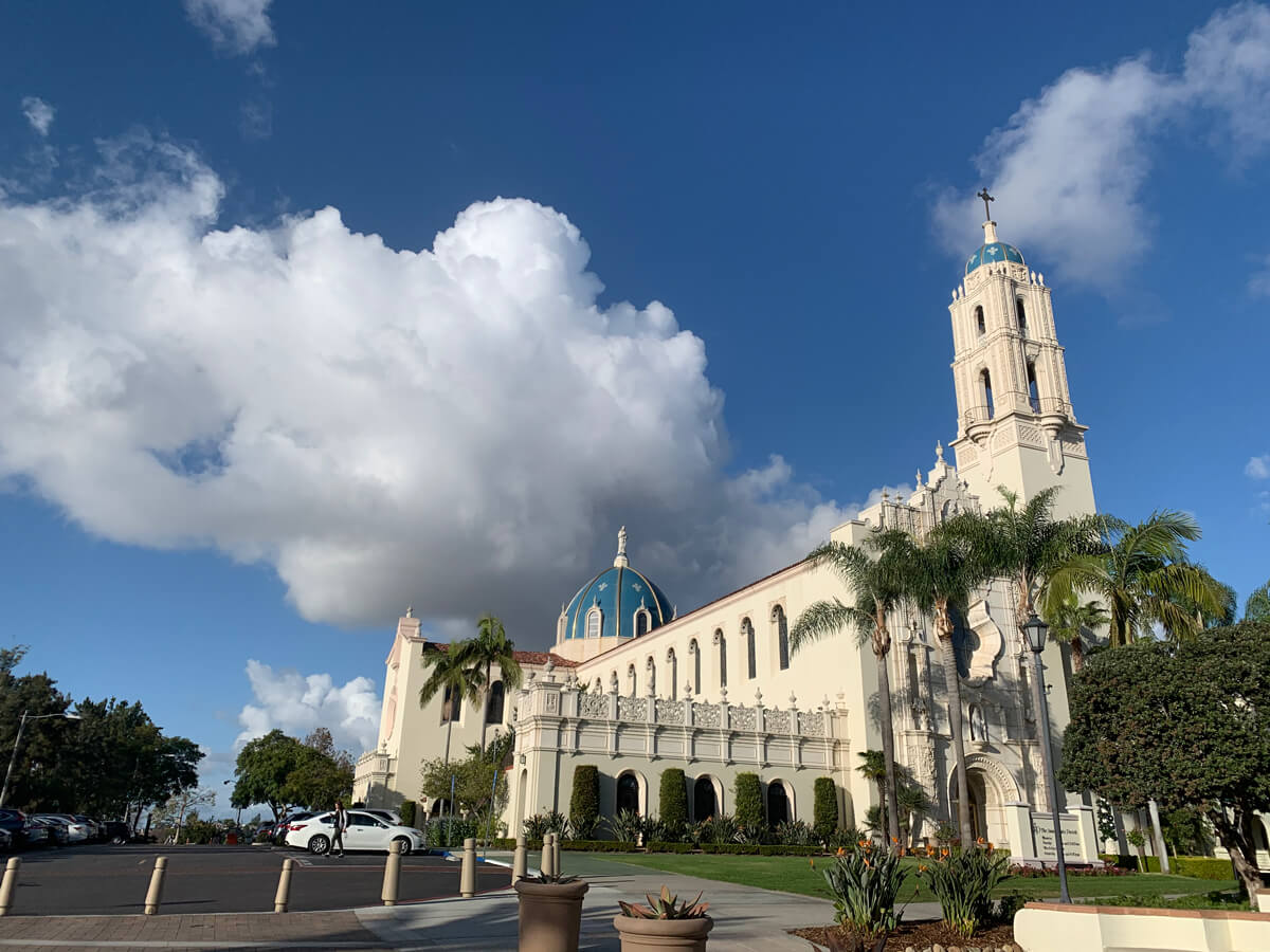 Immaculata clouds