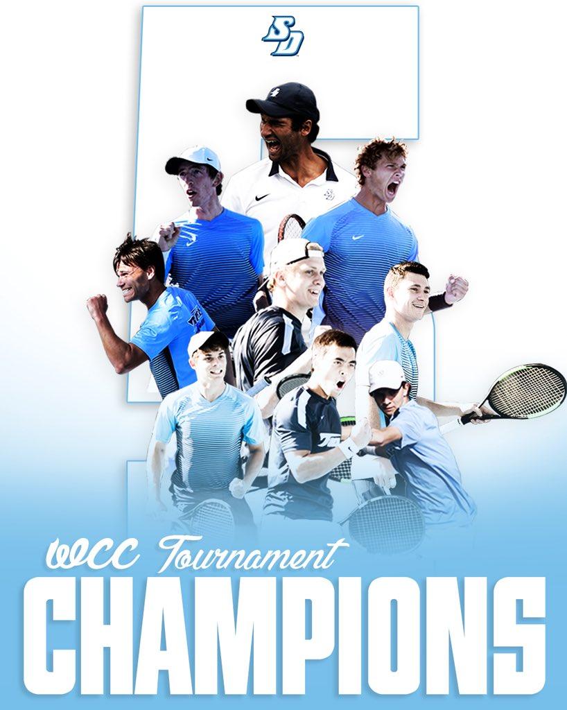 Men's Tennis - WCC Tournament Champions