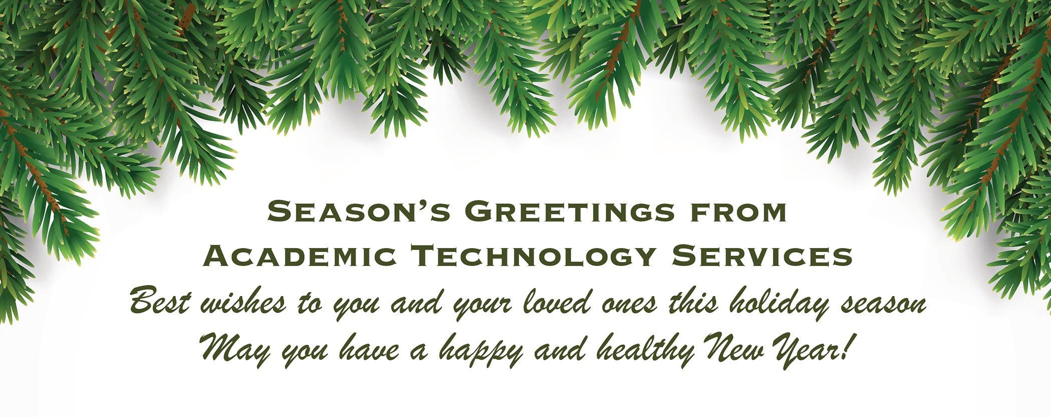 season's greetings message