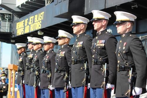 NROTC Ceremony USS Midway